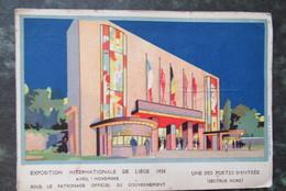 Cp/pk Exposition Liege 1930 Portes D'entrée - Liege