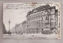 CPA - Budapest (Hongrie) - Lipot-körüt - Hungary