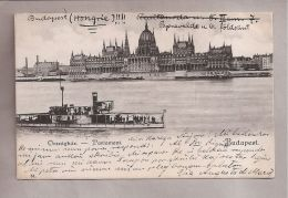 CPA - Budapest (Hongrie) - 54. Orszaghaz - Parlament - Hungary