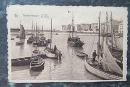 Cp/pk Blankenberghe Visser Visser Boten Boot Zeilboot - Blankenberge