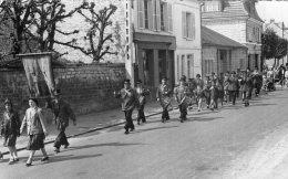 """V11073 Carte Photo   """"  Les Joyeux Bigophones De Gouvieux"""" - Gouvieux"""