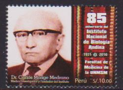 Peru (2016)  - Set -   / Medicine - Doctor Carlos Monge Medrano - Medecin - Geneeskunde