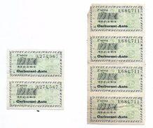 Libération/Tickets De Rationnement/6 Tickets/10 Litres Carburant Auto / Années 1945-1950       OL100 - Documents