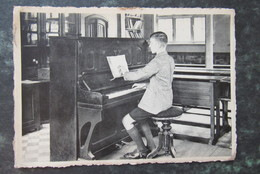 Cp/pk Brugge Snaggaardstraat Gesticht Voor Doofstommen En Blinden Piano Pianist - Brugge