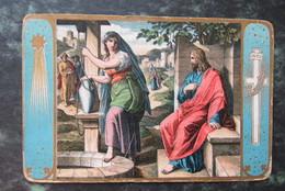 Cp/pk  Jezus En De Samaritaansche Vrouw - Jésus