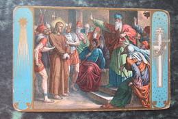 Cp/pk Christus Voor De Hoogepriester - Jésus