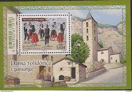 2016 Andora Fr. Mi. Bl 13 **MNH    Sardana-Tanz, Canillo - Französisch Andorra