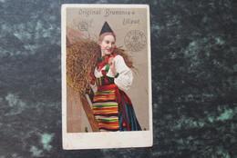 Cp/pk Brunonia Naaimachine No Singer Liliput Witch Heks Pub - Publicité