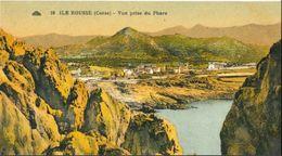 CP ILE ROUSSE (Corse) 2B - Vue Prise Du Phare - N° 10 - Altri Comuni