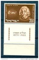 Israel - 1956, Michel/Philex No. : 132,  - MNH - *** - Full Tab - Israel