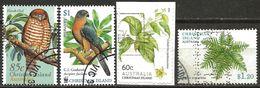 Christmas Island 1996 2002 2012 2013 Used Birds Plants - Christmas Island