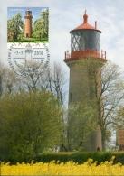 CM-Carte Maximum Card #2016-Allemagne-Germany  # Architecture # Phare,Leuchtturm,Lighthouse # Fehmarn - Fari