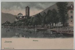 Locarno - Rivapiana - Lago Maggiore - Fischerboot - TI Tessin