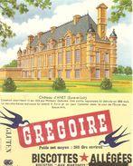 Buvard Biscottes Gregoire Chateau D'anet Eure Et Loir - Biscottes