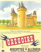 Buvard Biscottes Gregoire De Combourg Ille Et Vilaine - Biscottes