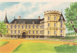 Buvard Biscottes Gregoire Chateau De Rambouillet - Biscottes