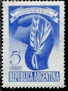 ARGENTINA 1948 REVOLUTION OF 4 JUNE 5th ANNIVERSARY CAP OF LIBERTY CENT, 5c MNH - Nuovi