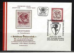 ÖSTERREICH - FDC Mi-Nr. 1439 Schönes Österreich Stempel BLUDENZ (11) - FDC