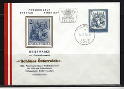 ÖSTERREICH - FDC Mi-Nr. 1440 Schönes Österreich Stempel NAUDERS (11) - FDC