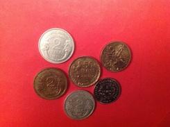 Lot De 6 Pieces Voir Description Et SCAN - Monedas & Billetes