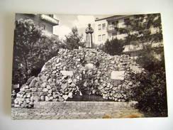 Monumento Al Santo  Francesco D'Assisi     -   FOGGIA   PUGLIA   VIAGGIATA  COME DA FOTO - Manfredonia