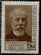 ARGENTINA 1956 Florentino Ameghino Anthropologist. PESOS 2.40p MNH - Nuovi