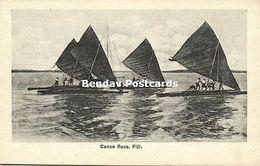 Fiji Islands, Canoe Race (1910s) Robbie And Company - Fiji