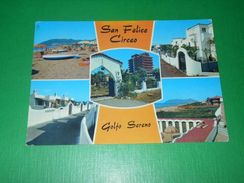 Cartolina San Felice Circeo - Golfo Sereno - Vedute Diverse 1975 - Latina