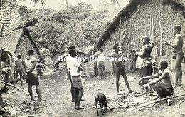 New Hebrides, Vanuatu, Malekula Island, Village Scene (1950s) - Vanuatu