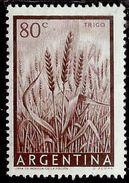 ARGENTINA 1954 1959 WHEAT TRIGO GRANO CENT. 80c MNH - Nuovi