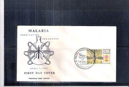 Maladies - Malaria - FDC Pakistan 1962 - Maladies