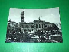 Cartolina Andria - Palazzo Di Città 1955 - Bari