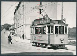 SWITZERLAND RX414 Strassenbahn Tramway La Chaud De Fonds Nr10 13/5/50 - Cartoline