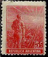 ARGENTINA 1911 AGRICULTURE AGRICOLTURA CENT. 5c MNH - Argentina
