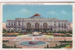 California San Francisco Exposition Auditorium Civic Center - San Francisco
