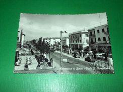 Cartolina Rivazzurra Di Rimini - Viale R. Margherita 1958 - Rimini