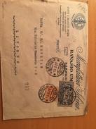 BUSTA POSTALE PUBBLICITARIA-SARNICO-BERGAMO-DITTA RAVASIO UMBERTO-STOFFE-ESPRESSO - 1900-44 Victor Emmanuel III