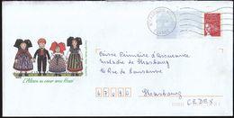 France Strasbourg 2003 / Museum / Dolls / Hansi / Postal Stationery - Listos A Ser Enviados: Otros (1995-...)