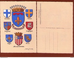 1 Cp Illustrateur Maurice Jacquez -   Provence - Otros Ilustradores