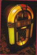Grote Kaart Grand Format Wurlitzer Juke Box (folds) JUKEBOX MUSIC MUZIEK - Musique Et Musiciens
