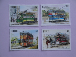 1987  Irlande Yvert 618/21 **  Transport Tramway Scott 681/4 Michel 615/8  SG 658/61 - 1949-... République D'Irlande