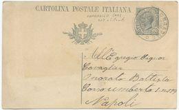 1920 CARTOLINA POSTALE DA SORRADILE (OR) 19.7.20 OTTIMA QUALITÀ (8123) - 1900-44 Vittorio Emanuele III