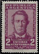 ARGENTINA 1957 Esteban Echeverria (1805-1851), Poet POETA PESOS 2p MNH - Nuovi