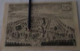 Markegem - Oude Kaart Sanderus - 1735 - Dentergem - Dentergem