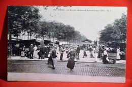 Paris - Le Marché - Boulevard Richard-Lenoir ( XIè) - District 11