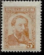 ARGENTINA 1957 JOSE' HERNANDEZ CENT. 10c MNH - Nuovi