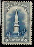 ARGENTINA 1910 Pyramid Of MAY PIRAMIDE A MAYO CENT. 1/2c MLH - Nuovi
