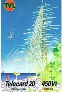 Vanuatu (Hebrides) Telecarte Phonecard  Telecard 20 Unite Telecom TVL Saut Gaul 450 Vatu, Ut. Legende Noire RR - Vanuatu