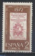 °°° SPAGNA SPAIN - Y&T N°1730 - 1972 MNH °°° - 1931-Aujourd'hui: II. République - ....Juan Carlos I