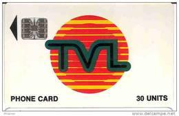 Vanuatu (ex Hebrides) Telecarte Phonecard TVL Telecom  30 Unités SC7, C + 8 Numero Rouge, TBE - Vanuatu